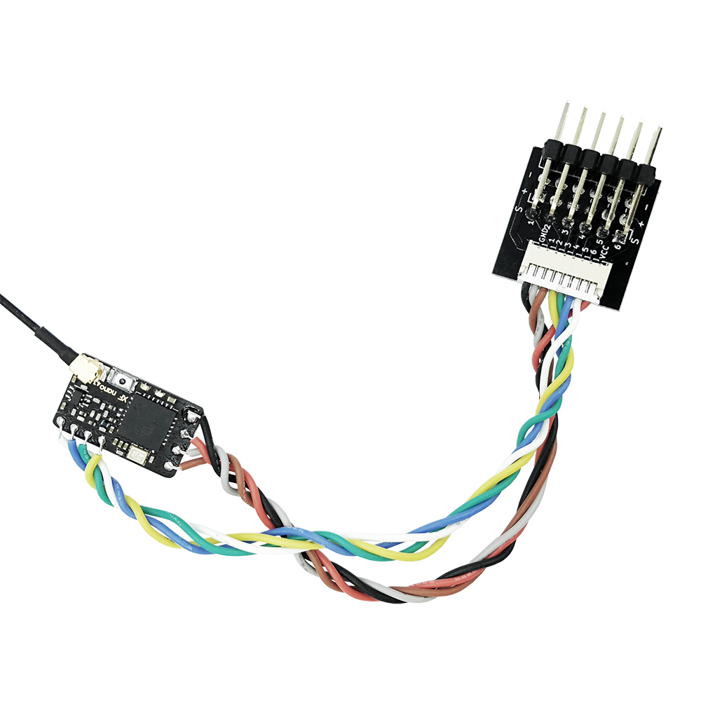 Receiver Adapter Support PWM Signal Output for TBS Crossfire Nano RX FrSky R9 Slim Slim+ Receiver - Photo: 2