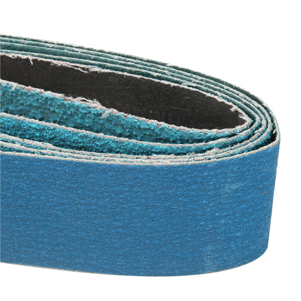 5pcs 914x50mm Mixed Grit Sanding Belts Zirconia 40/60/80/120 Grit Sanding Belts