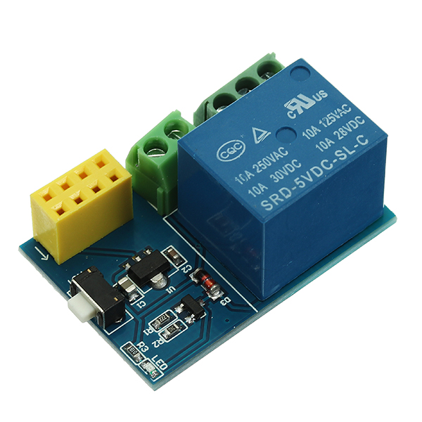 5Pcs ESP-01S Relay Module WiFi Smart Remote Switch Phone APP DIY Project Design For Arduino