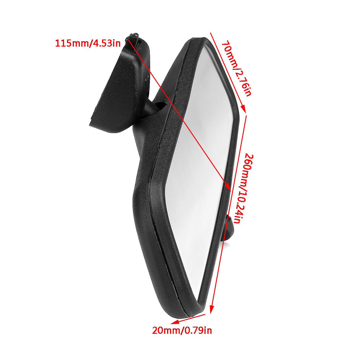 Car Truck Wide Flat Interior View Mirrors Rearview for Original GM Opel Astra AU
