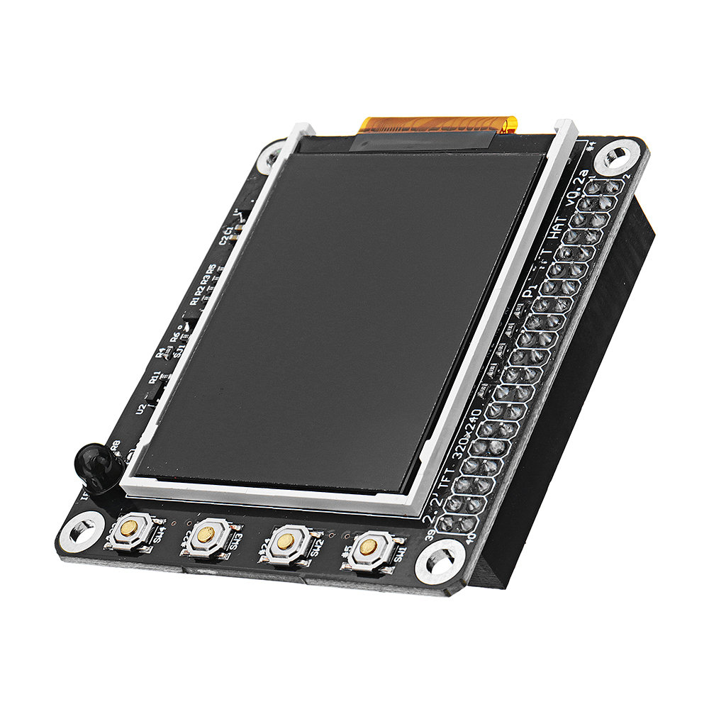 2.2 inch 320x240 TFT Screen LCD Display Hat With Buttons IR Sensor For Raspberry Pi 3/2B/B+/A+