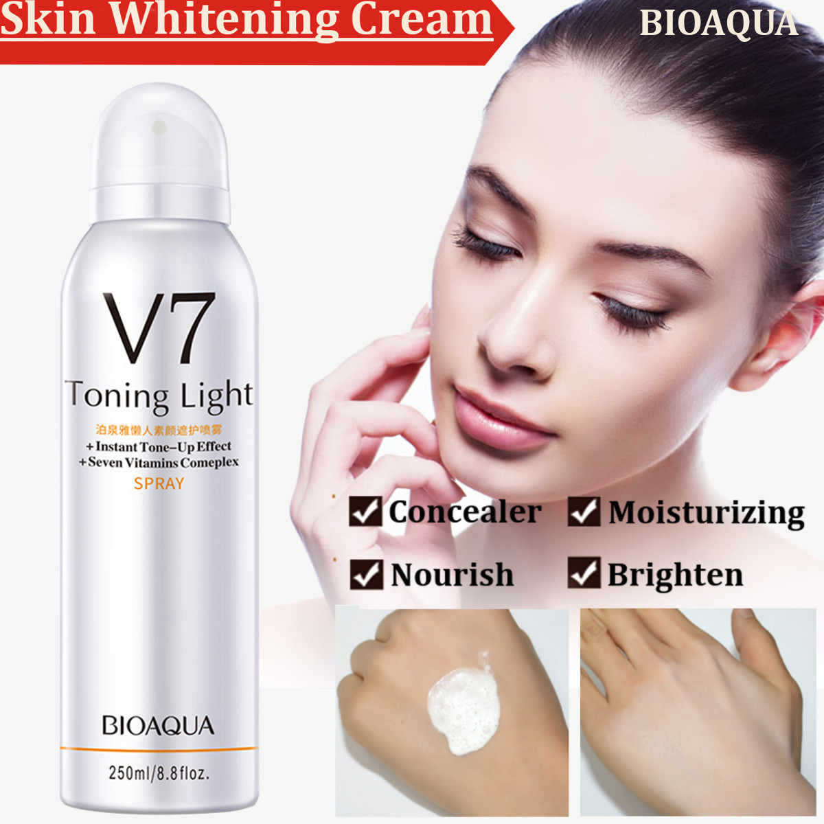 BIOAQUA Skin Whitening Cream 250ml