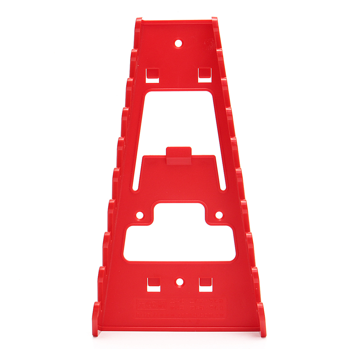 22x12x6cm Red Spanner Rack Wrench Holder Storage Wrench Organizer Tools