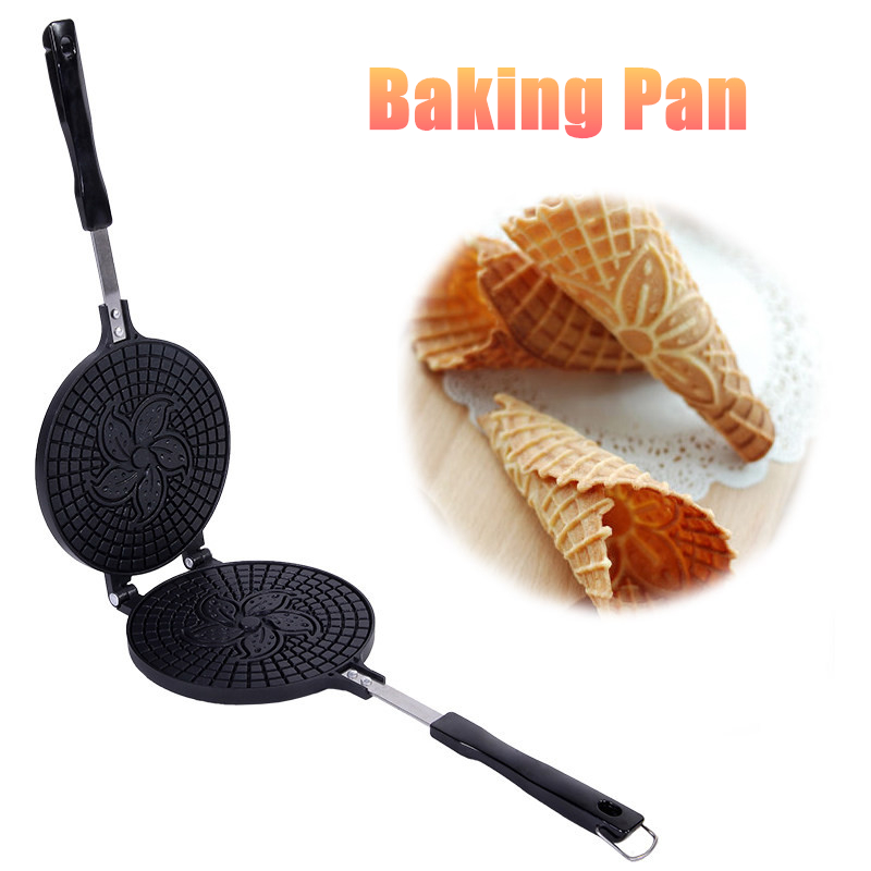 Waffles Baking Pan Egg Roll Crispy Omelet Machine Bakeware Tool Kitchen Frying Pan