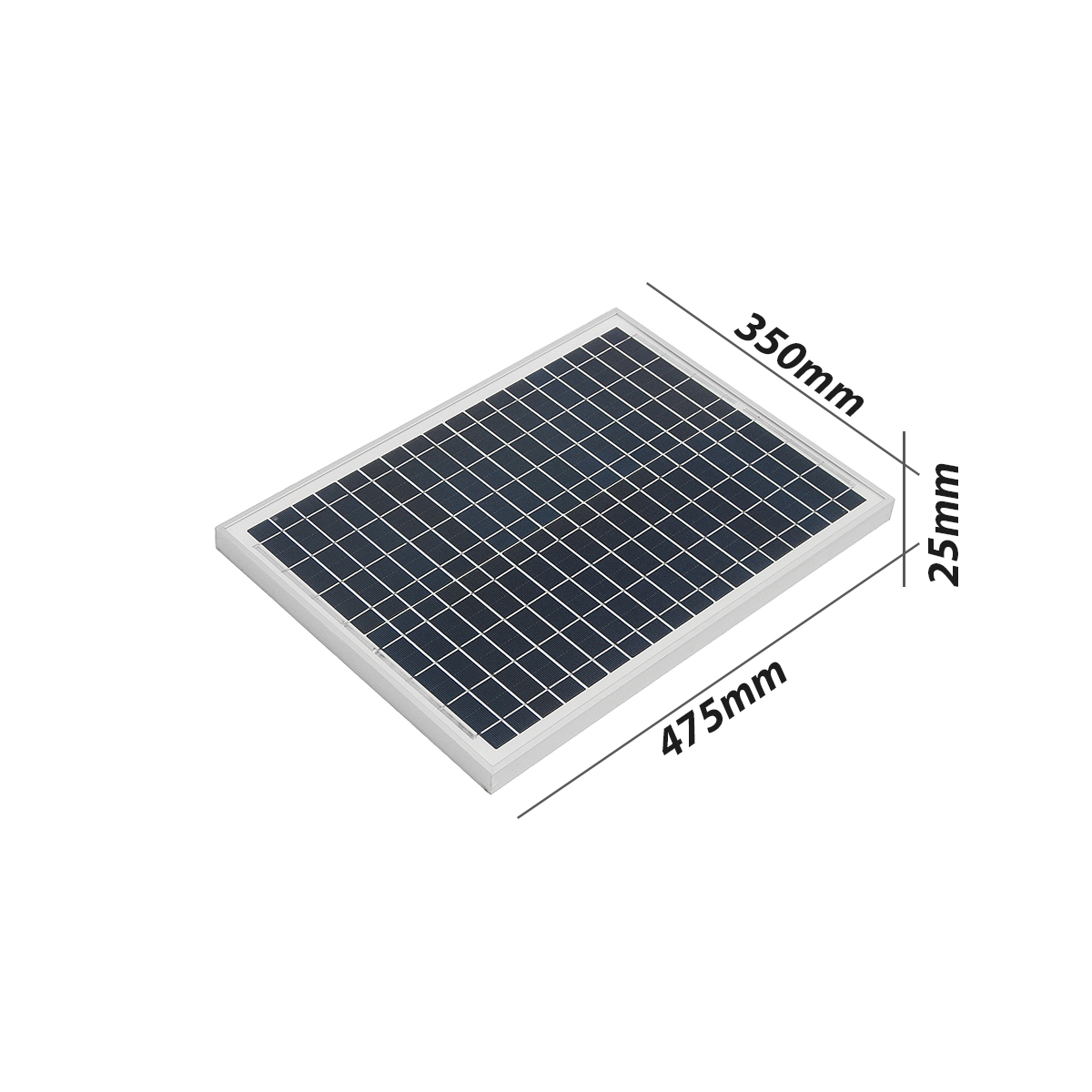 Elfeland P-20 20W 18V Energy Poly Solar Panel Battery Tricle Charger For Boat Caravan Motorhome
