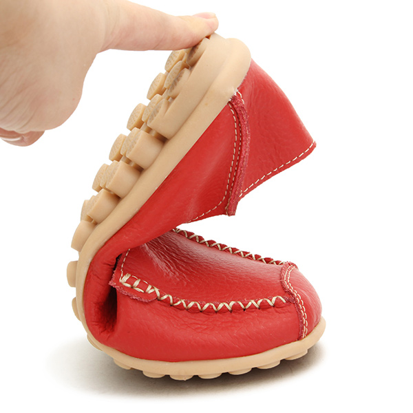 Women Flats Shoes Comfortable Casual Slip On Round Toe Soft Flat Loafers Shoes