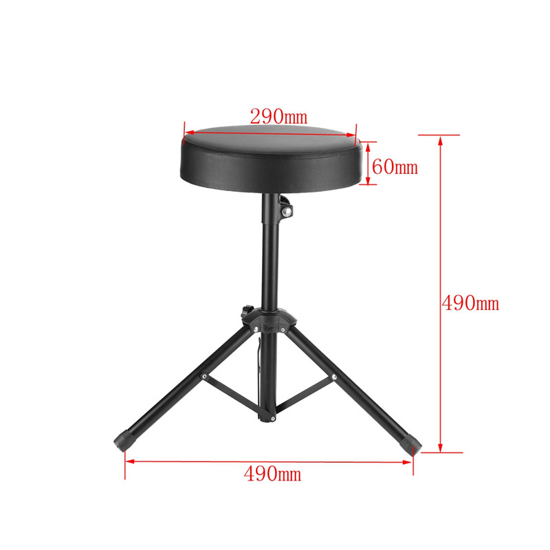 Cajon Drum Throne Seat Pad Drummers Stool Stand Chair SET Percussion Hardware