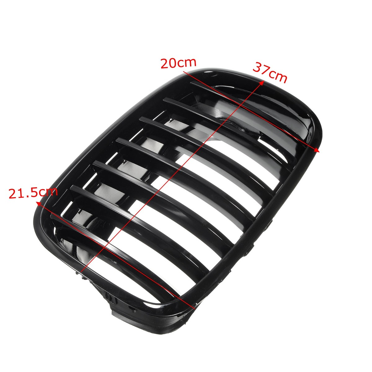 Black Front Hood Grilles Grille 07-13 FOR BMW E70 X5 X5M