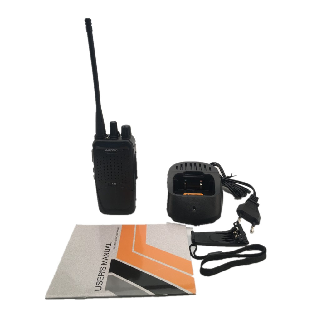 BAOFENG K35 16 Channels 400-470MHz 3M Distance Mini Radio Walkie Talkie Outdoor Hiking Civilian Walkie Talkie