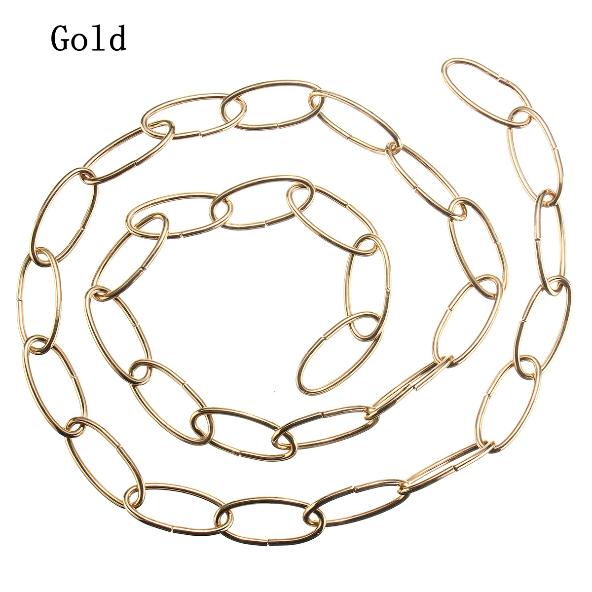 1M Vintage Heavy Duty Chain for Chandelier Hanging Lamp Pendant Lighting 37mm*17mm