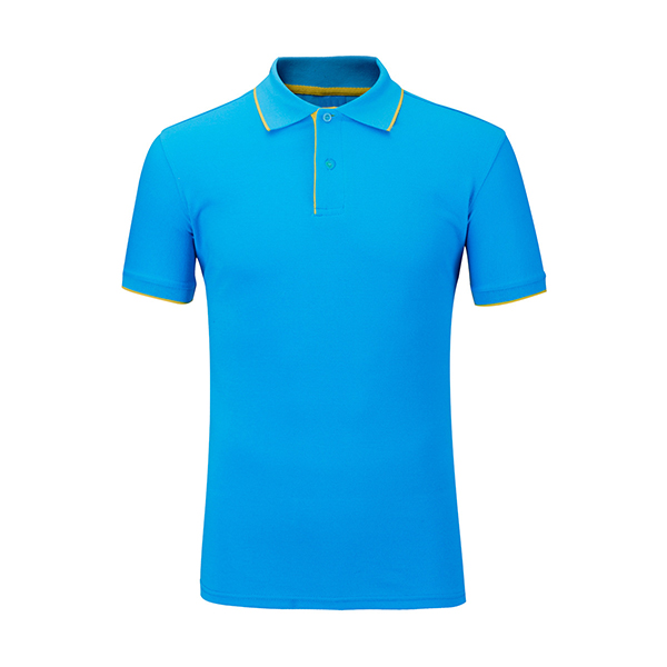 Mens Summer Casual Solid Color Golf Shirt Turn-down Collar