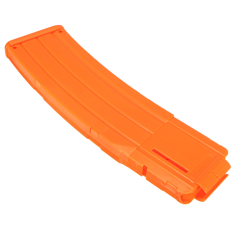 WORKER Mod 22Darts Plastic Clip Magazine For Nerf Modify Stryfe Elite Retaliator Blaster Toy Orange