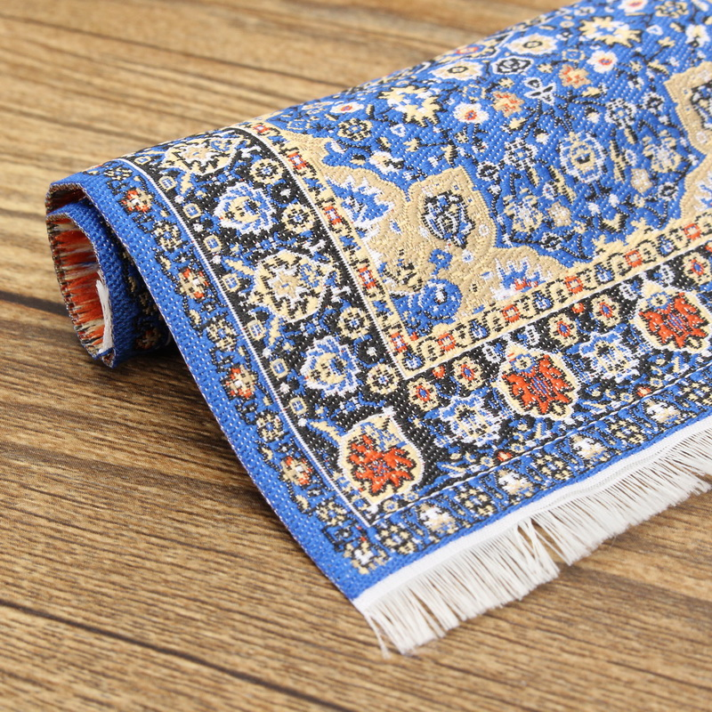 1/12 Dollhouse Turkish Carpet Rug 10x15cm Miniature Dollhouse Accessories Decor TCS001 TCS002