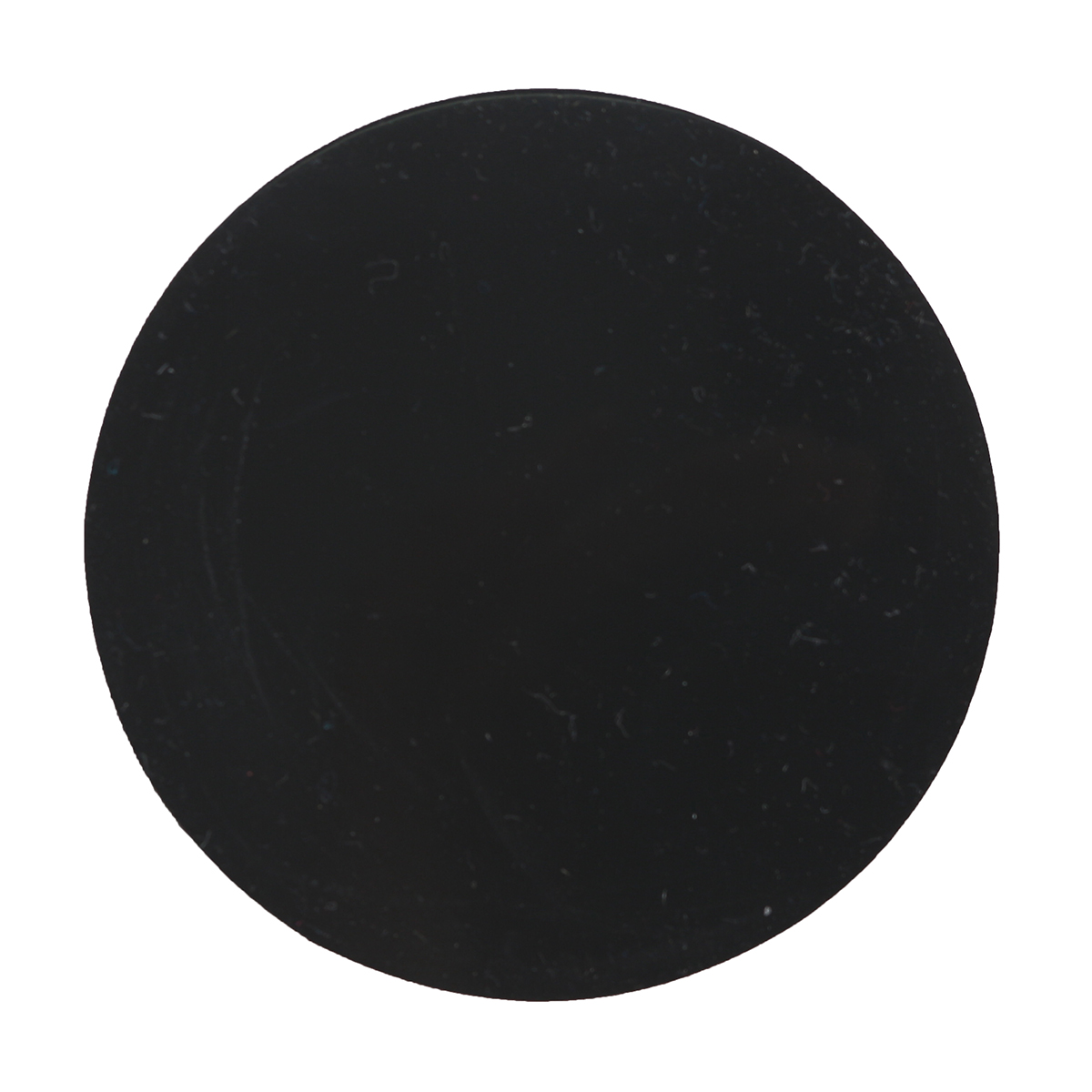 10Pcs 80mm Round Black Silicone Oval Model Bases Support for Wargames Table Games
