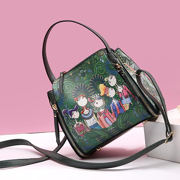 Women Leather Stylish Crossbody Bag Shoulder Bag