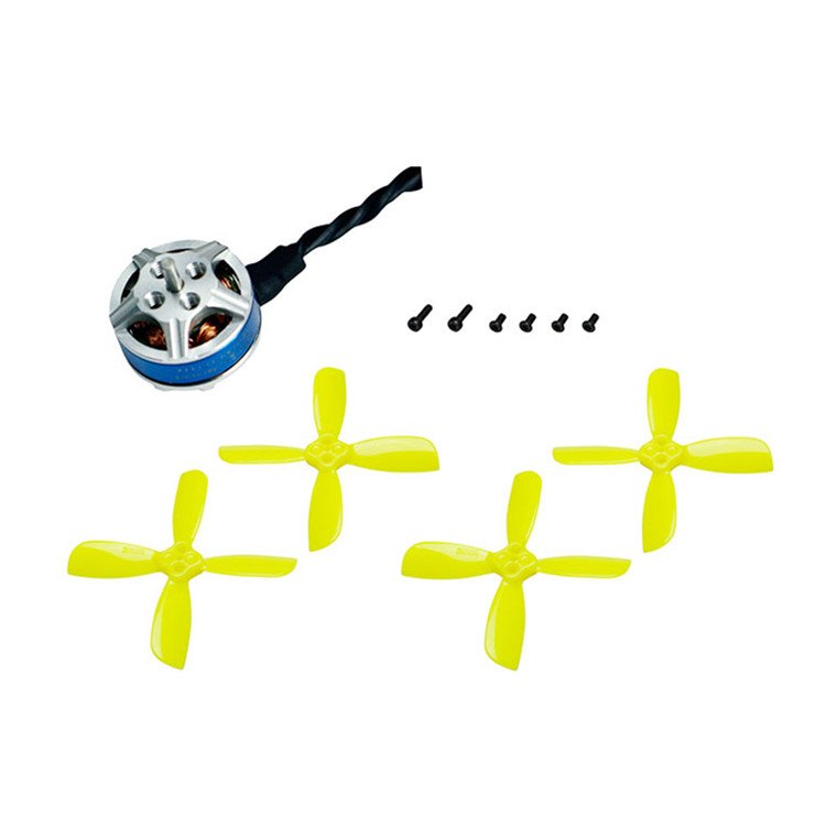 KINGKONG/LDARC FLY EGG 100 RC FPV Racing Drone Part XT1103-7800KV Motor W/ 2 Pairs Propeller