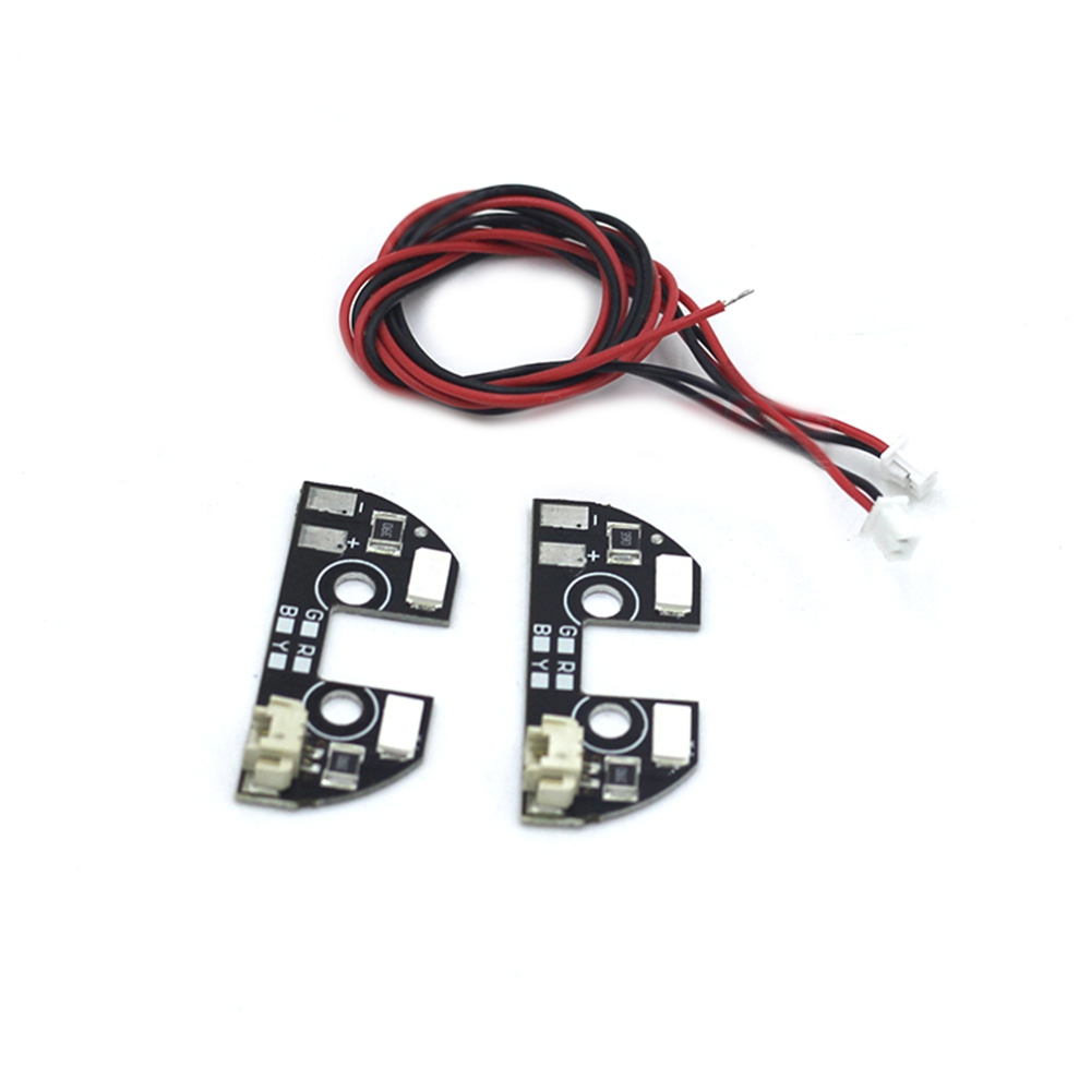 2 PCS Flash Direction LED Night Avigational Light Controller Indicator For All Flight Controller F450 F330