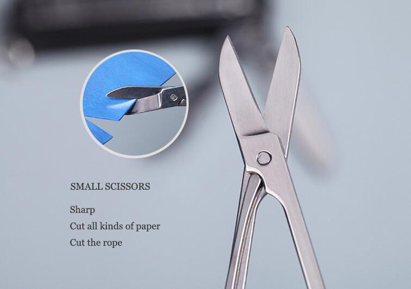 5 in 1 Stainless Steel Nail Clippers Scissors