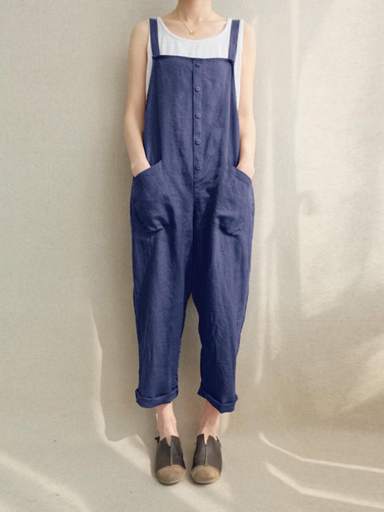 S-5XL Loose Harem Jumpsuit