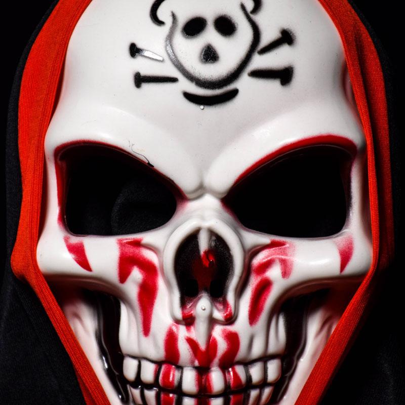 Halloween Skull Vampire Mask Bar Dance Horror Scary Soul Props Demon Devil