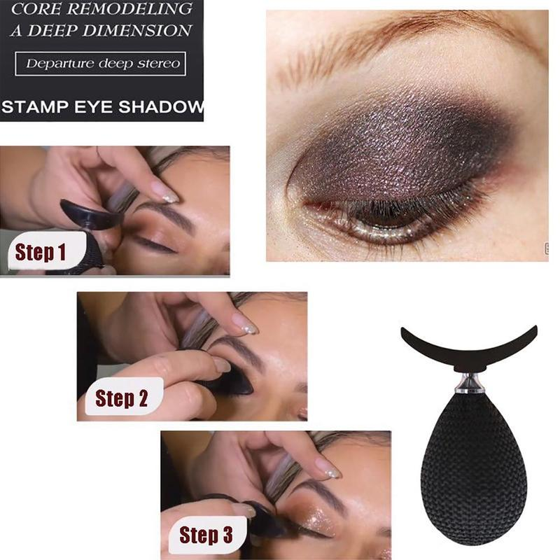 Silicon Eyeshadow Stamp Crease Lazy Eye Shadow Applicator