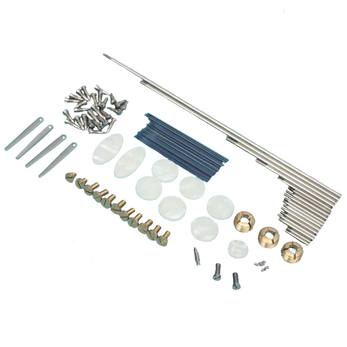 Repair Parts Screws Springs And Key Buttons Inlays for