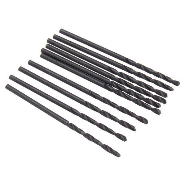 10pcs 1/1.5/2.0/2.5/3.5/4.0/4.5mm Twist Drill Bit Set HSS Straight Shank Twist Drill Bits