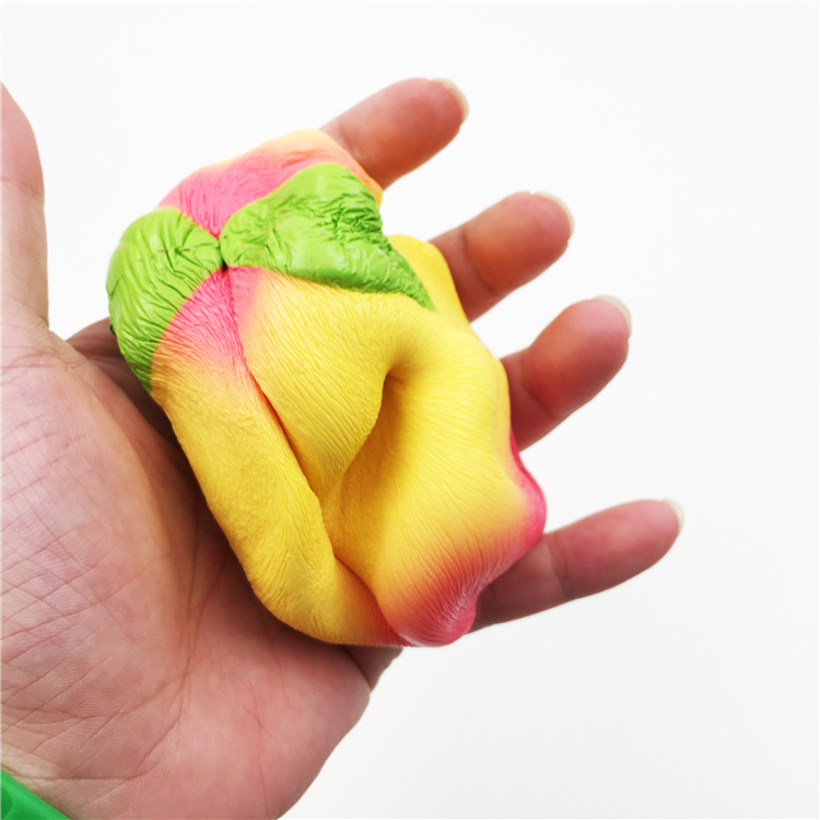 Jumbo Peach Squishy 10cm Slow Rising Soft Fruit Collection Gift Decor Toy