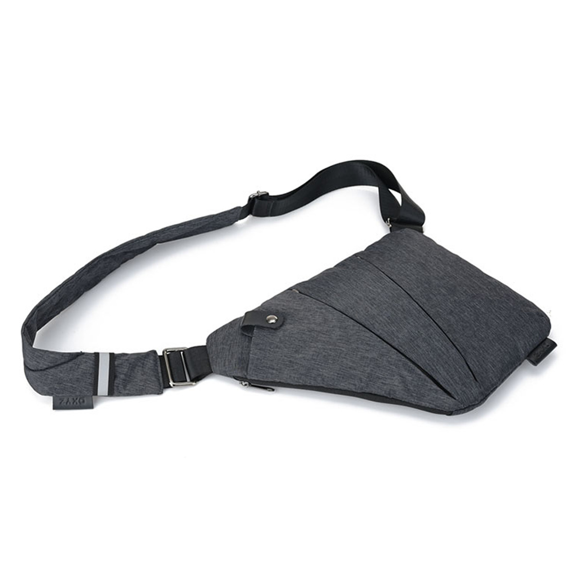 IPRee® Men Anti Theft Safety Sling Bag Polyester Messenger Crossbody Chest Single Shoulder Pack