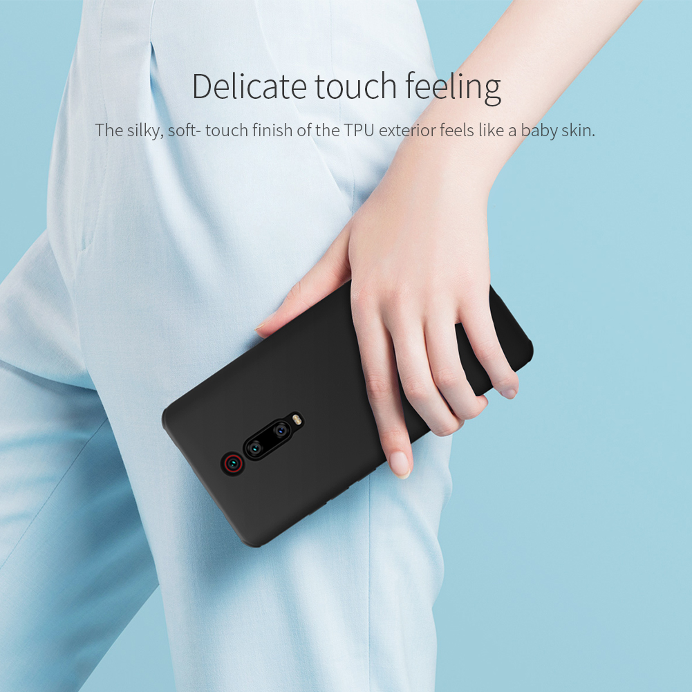 NILLKIN Shockproof Anti-fingerprint Soft TPU Protective Case for Xiaomi Redmi K20 / Redmi K20 Pro / Mi 9T / Mi 9T Pro