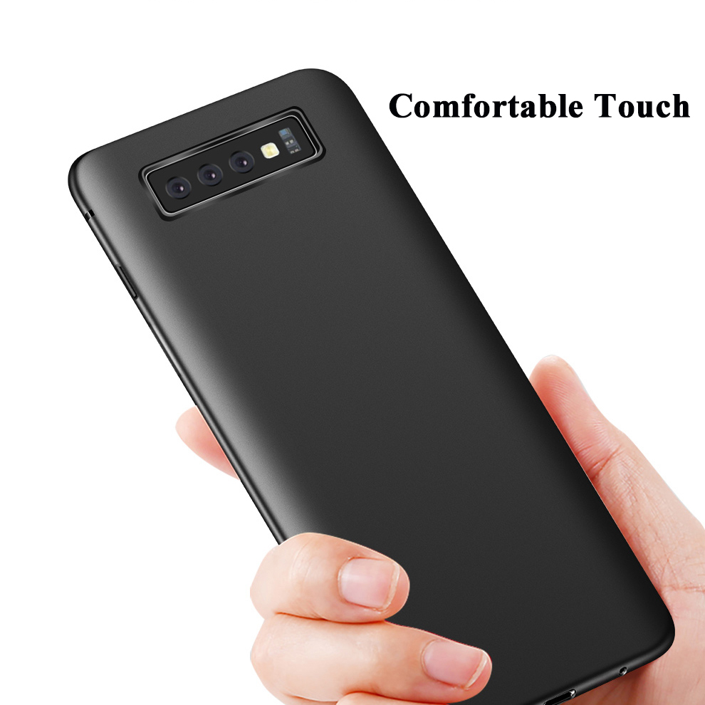 Bakeey Protective Case For Samsung Galaxy S10 Plus 6.4 Inch Micro Matte Anti Fingerprint Resistant Soft TPU Back Cover