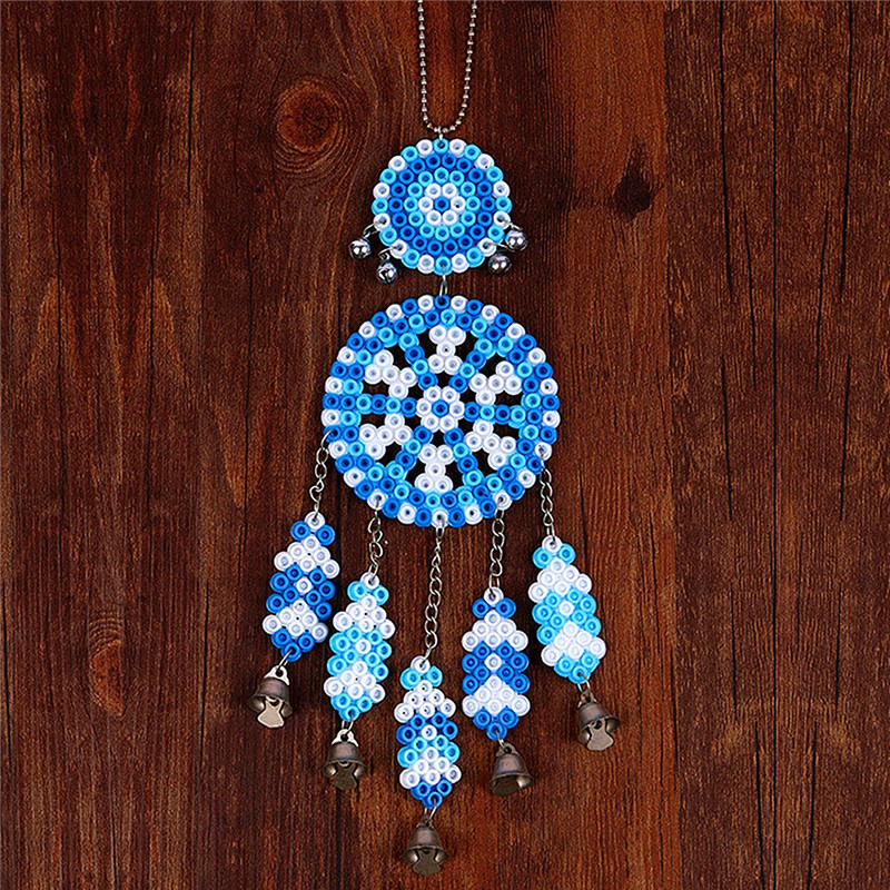 DIY Dream Catcher Windbell Kit Perler 5mm Fuse Beads Kid Craft Toy Decor