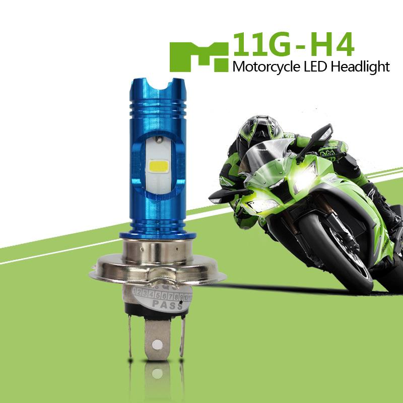 M11G H4 LED 6000K 800Lm Motorcycle Headlight High/low Bulb Headlamp