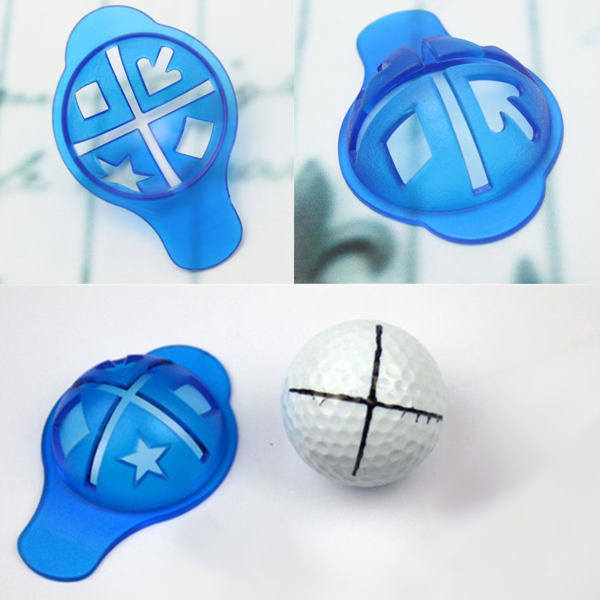 Line Drawing Device Line Marking Cap for Golf Ball