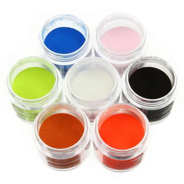 Dancingnail 12/18/24 Colors Mixed Color Acrylic Manicure Nail Art Powder Carving Dust Decoration
