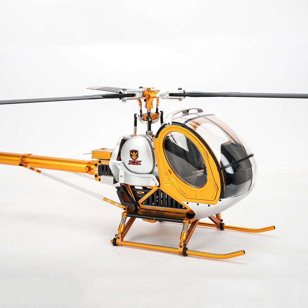 JCZK 300C 6CH DFC 3D Flying Three Blade Rotor TBR Super Simulation RC Helicopter