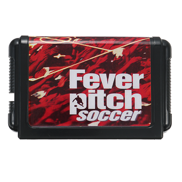 16bit Fever Pitch Soccer Game Cartridge for Sega Mega Drive