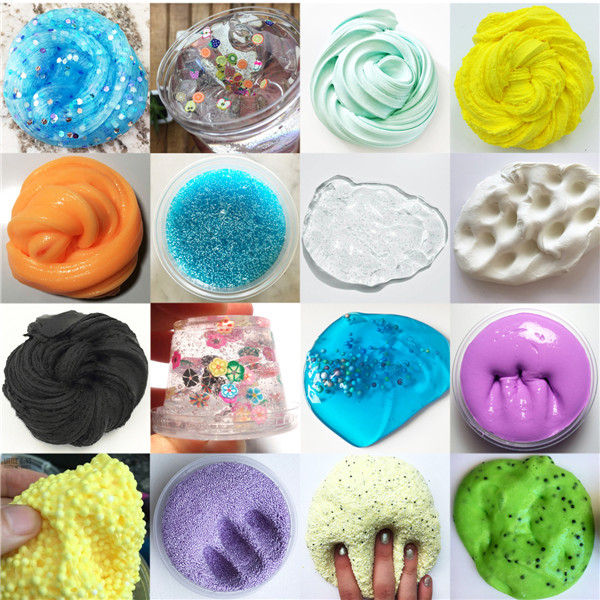 Set 42 Make Your Own Slime Kit Kids Gloop Sensory Play Science Party Games DIY Toy