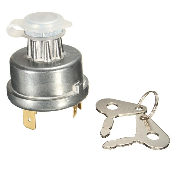 universal tractor ignition switch starter 2 key for massey ferguson john deere