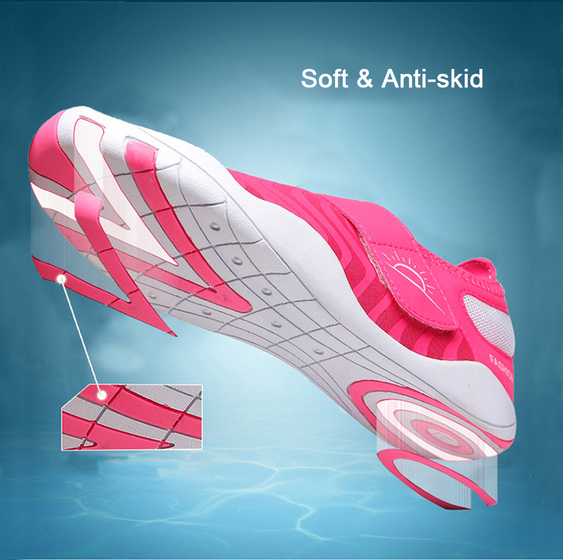 Outdoor Female Water Sneakers Shoes Breathable Lightweight Swimming Diving Wading Beach Shoes