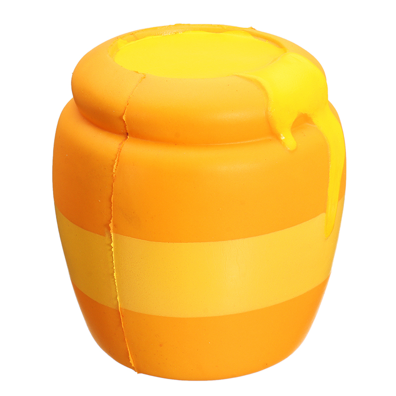 Squishy Honey Jar Pot 11cm Sweet Soft Slow Rising Collection Gift Decor Toy
