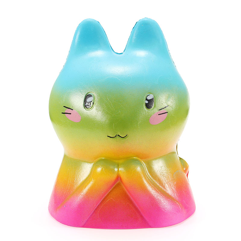 Squishy Bunny Rabbit 15cm Slow Rising With Packaging Collection Gift Decor Soft Toy