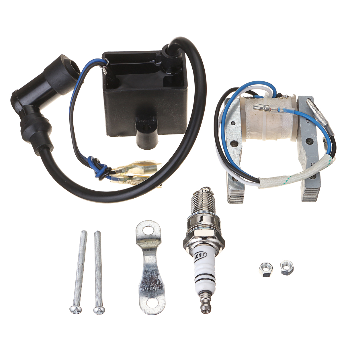 Motorcycle CDI Ignition Coil Magneto For Motorized 49cc 66cc 80cc Engine Bicycle Spark Plug Dayton ads sell