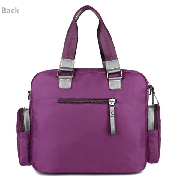 Women Men Nylon Multi Pocket Casual Handbag Large Capacity Shoulder Bag Crossboby Bag
