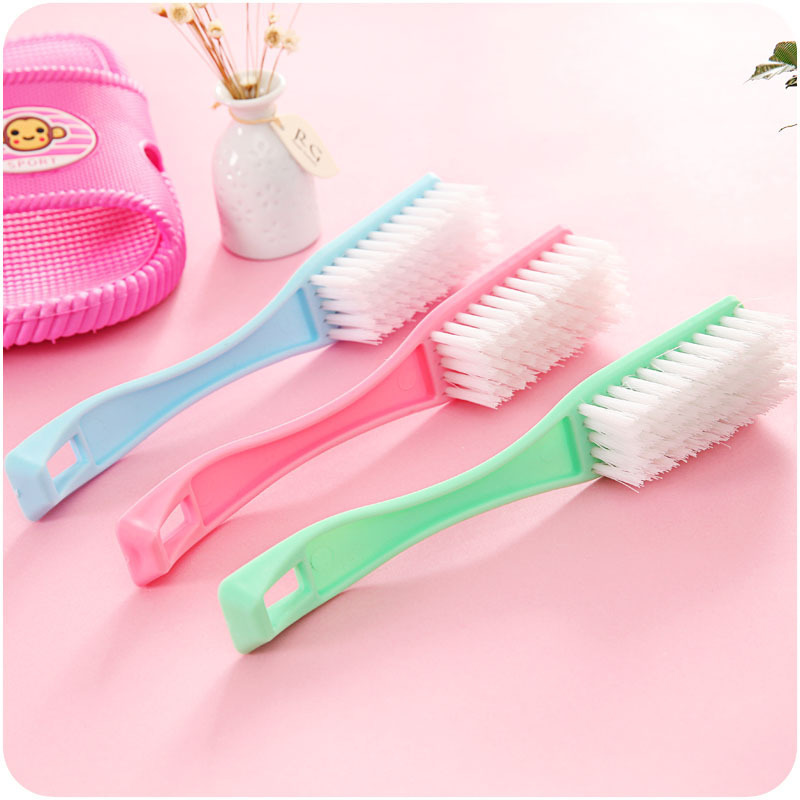 Shoe Brushing Shoes Artifact Creative Kitchen Cleaning Brush Long Handle Soft Hair Shoes Cleaning Care Special Brush Plastic Brush