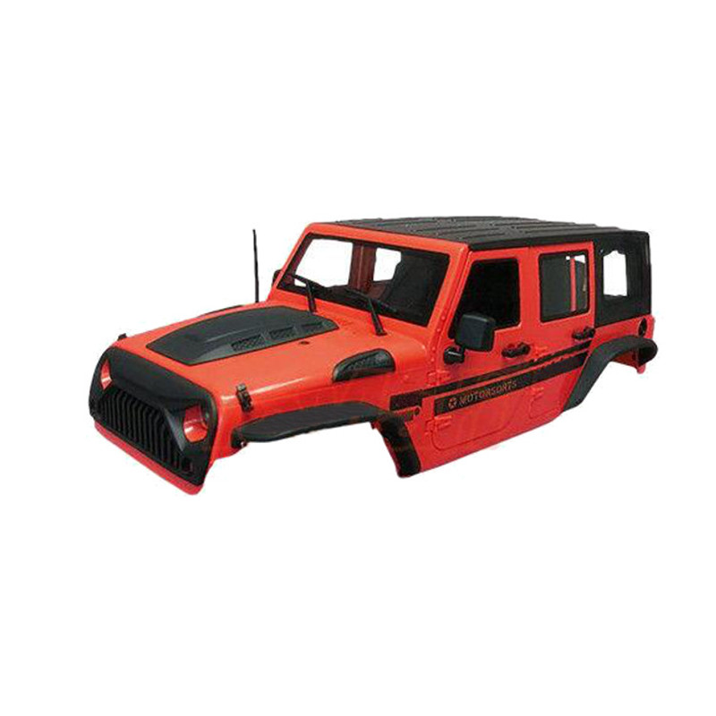 1/10 Speed Hard Plastic Speed RC Car Body Shell Canopy Red For Axial SCX10