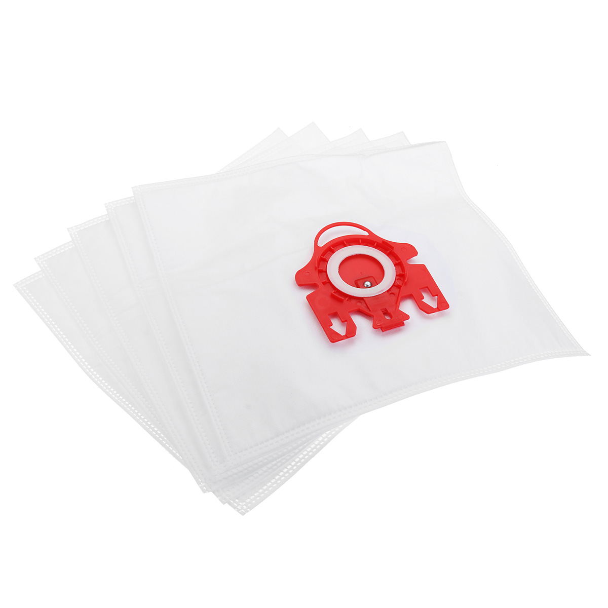 5pcs Vacuum Cleaner Bag with 2 Filter for Miele FJM Dual Layer Vacuum Cleaner