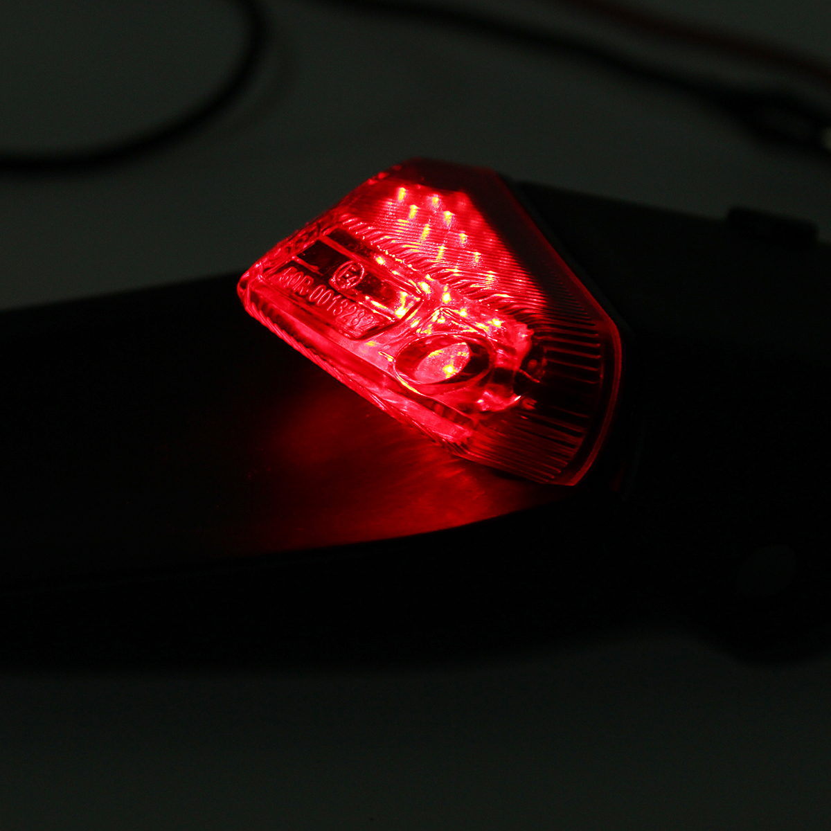 Universal Motorcycle Brake Stop Rear Tail Light ATV Dirt Bike For Fender 12 LED Lamp