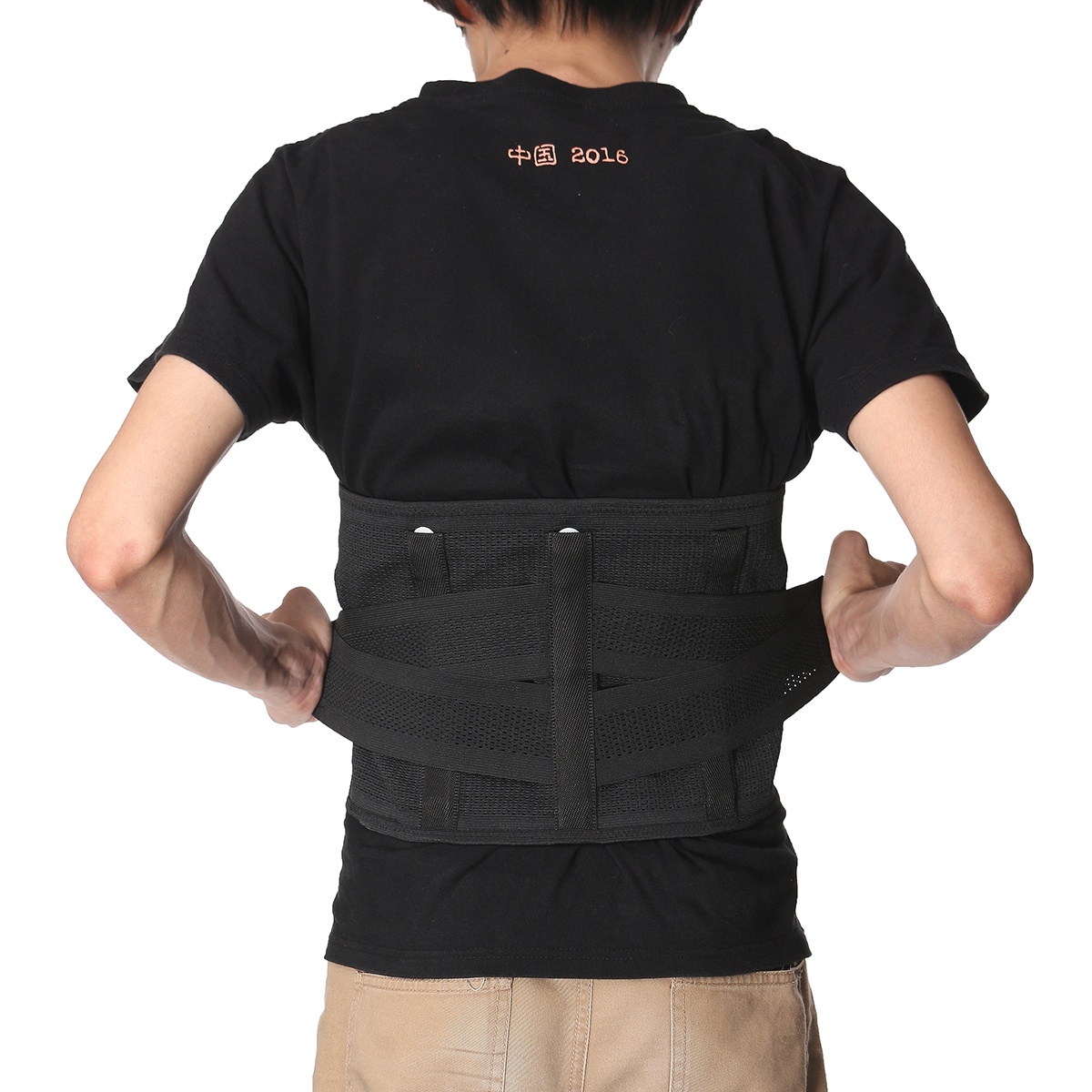 Lumbar Lower Back Support Brace Sport Waist Trainer Belt Body Shaper