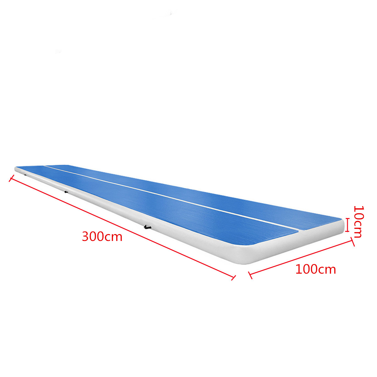 118x39.4x3.94inch Inflatable GYM Air Track Mat Airtrack Gymnastics Mat for Sports Tumbling Traning